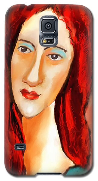 Ode To Modigliani Galaxy S5 Case by Ted Azriel