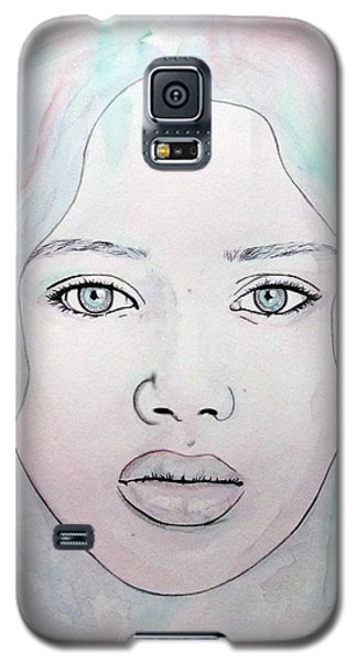 Of Colour And Beauty - Blue Galaxy S5 Case