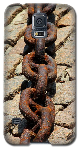 Galaxy S5 Case featuring the photograph Of Steel And Granite by John Freidenberg