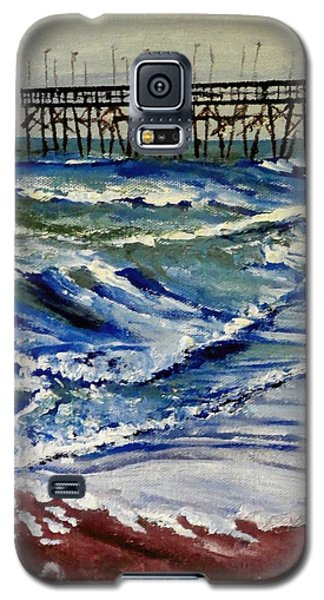 Off Season At Northtopsail Galaxy S5 Case by Jim Phillips