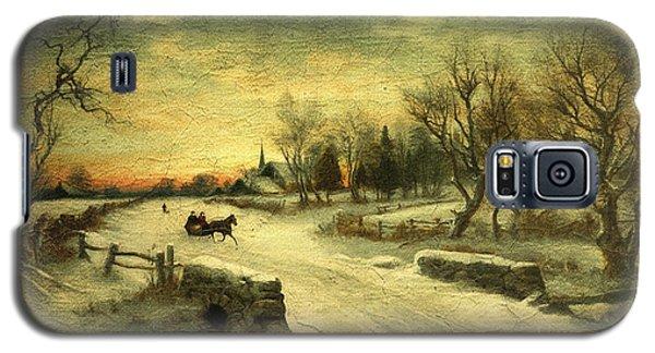 Off To Grandmas - Christmas Morning Galaxy S5 Case