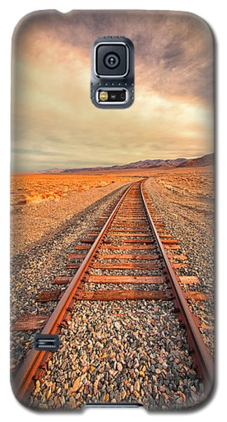 Galaxy S5 Case featuring the photograph Off To Nowhere by Janis Knight