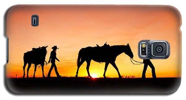 Off To The Barn Galaxy S5 Case by Todd Klassy