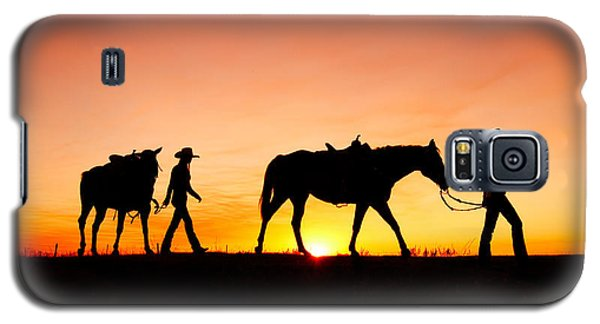 Off To The Barn Galaxy S5 Case