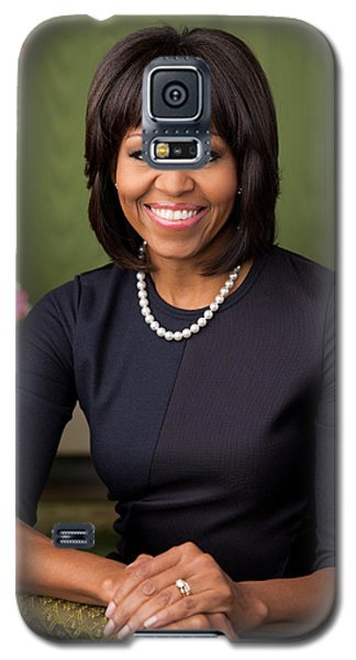 Official Portrait Of First Lady Michelle Obama Galaxy S5 Case
