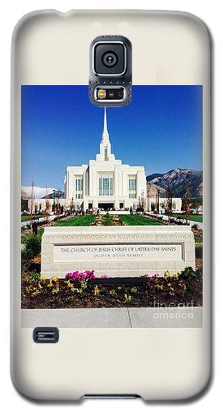 Ogden Temple 1 Galaxy S5 Case