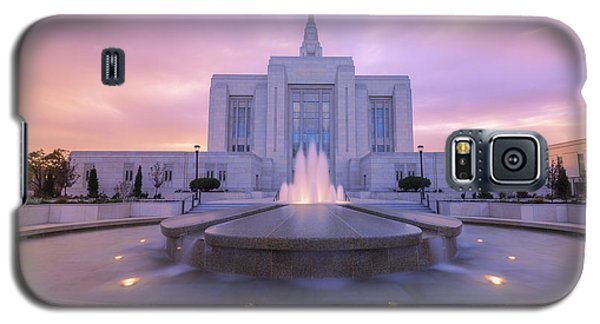 Sunset Galaxy S5 Case - Ogden Temple I by Chad Dutson