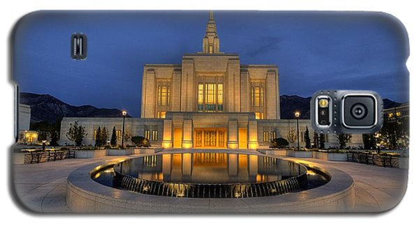 Ogden Temple Reflections Galaxy S5 Case