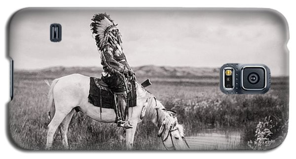 Oglala Indian Man Circa 1905 Galaxy S5 Case by Aged Pixel