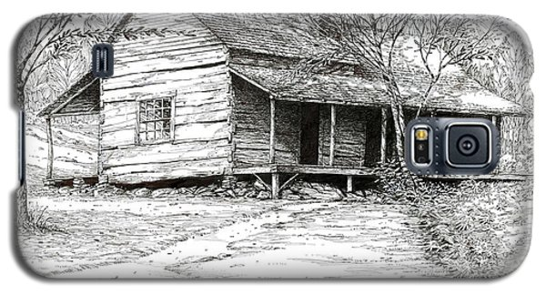 Galaxy S5 Case featuring the drawing Ogle's Back Porch by Bob  George