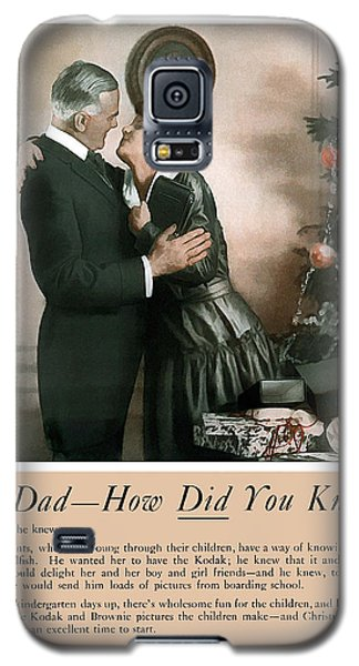 Oh Dad How Did You Know? 1917. Galaxy S5 Case