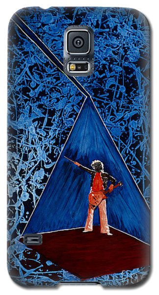 Galaxy S5 Case featuring the painting Oh Jimmy by Stuart Engel