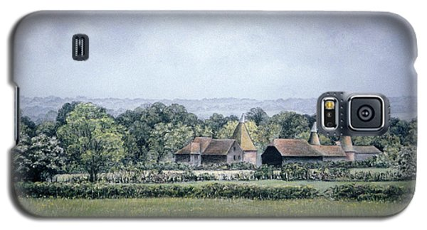 Galaxy S5 Case featuring the painting Oh To Be In England by Rosemary Colyer