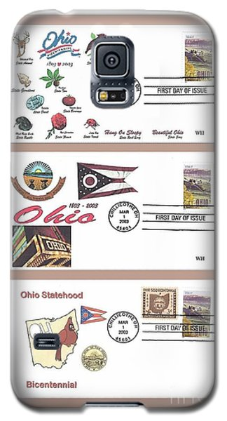 Ohio Bicentennial First Day Covers Galaxy S5 Case