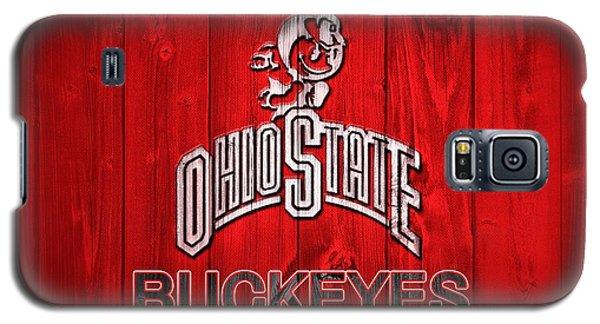 Ohio State Buckeyes Barn Door Vignette Galaxy S5 Case