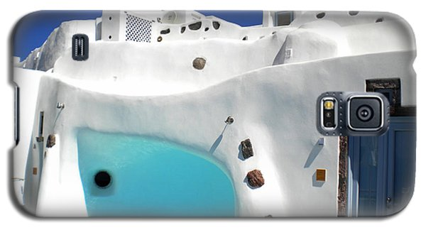 Oia Santorini  With Direct View To The Oceon Greece Galaxy S5 Case