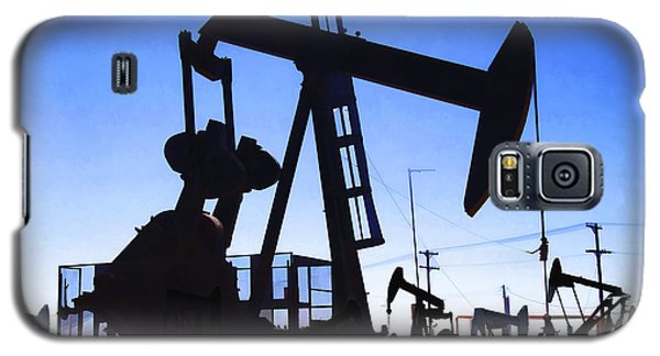 Oil Fields Galaxy S5 Case