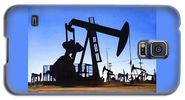 Oil Fields Galaxy S5 Case by Chuck Staley