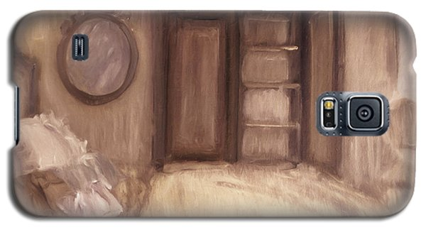 Oil Painting Of A Bedroom/ Digitally Painting Galaxy S5 Case