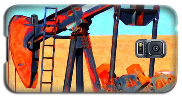 Oil Pump - Painterly Galaxy S5 Case