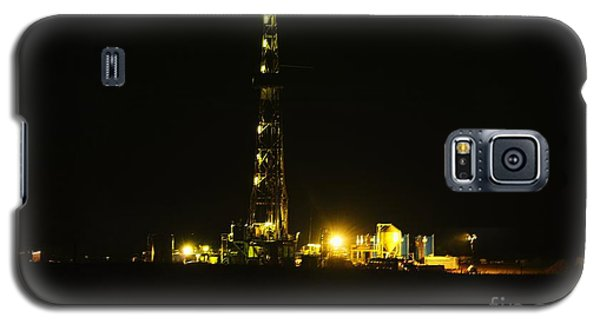 Oil Rig Galaxy S5 Case by Jeff Swan