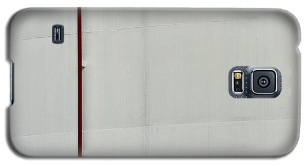 Galaxy S5 Case featuring the photograph Oil Tank After Barnett Newman by Steven Richman
