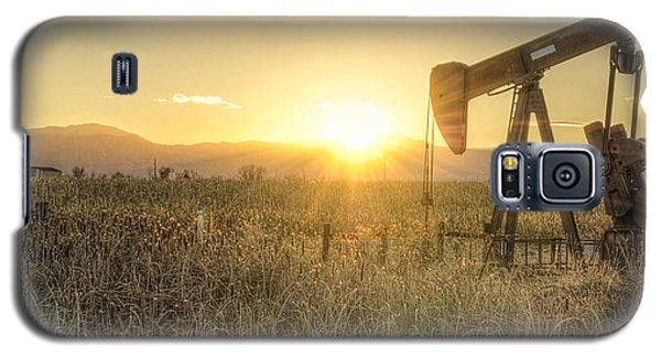 Oil Well Pump Galaxy S5 Case