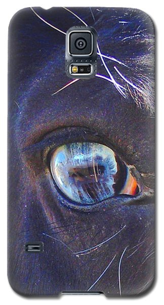Galaxy S5 Case featuring the photograph Ojo Sarco I Captivating by Anastasia Savage Ealy