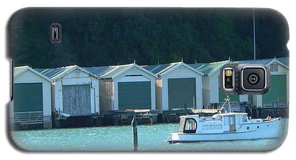 Okahu Bay Historic Boat Sheds Auckland Galaxy S5 Case