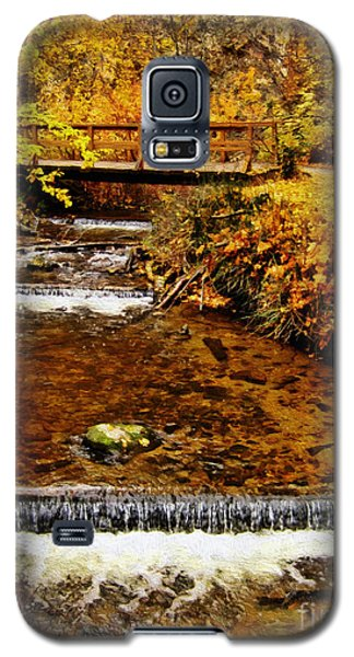 Galaxy S5 Case featuring the photograph Okanagan Autumn by Kathy Bassett