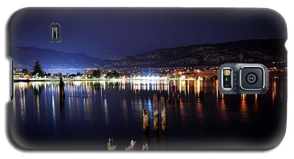 Okanagan Lake At Night Galaxy S5 Case