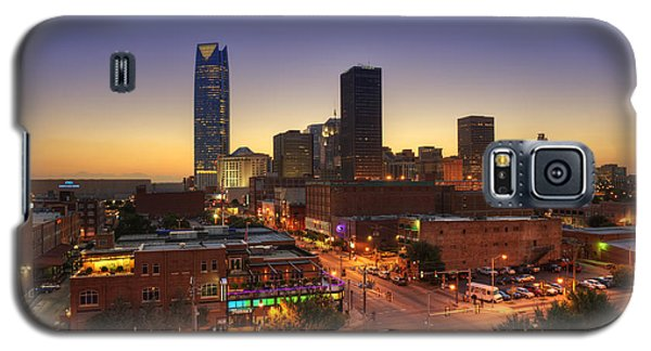 Oklahoma City Nights Galaxy S5 Case