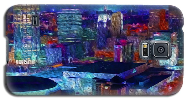Oklahoma City Starry Night Galaxy S5 Case