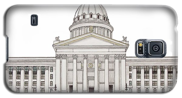 Oklahoma State Capitol Galaxy S5 Case