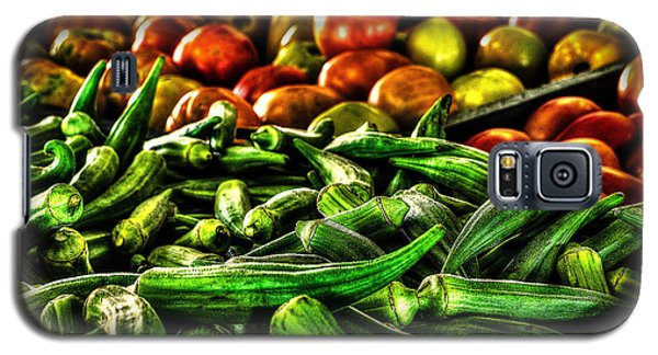 Okra And Tomatoes Galaxy S5 Case