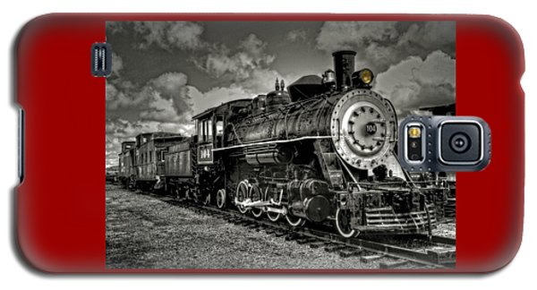 Old 104 Steam Engine Locomotive Galaxy S5 Case