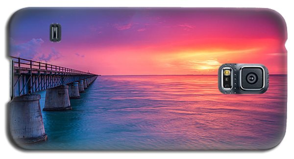 Old 7 Mile Bridge Sunset Galaxy S5 Case