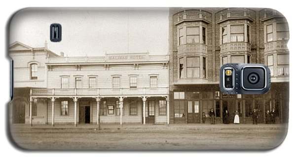 Old And New Salinas Hotel Was On West Market Street Circa 1885 Galaxy S5 Case