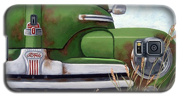 Old And Rusty Vintage Ford Realism Auto Scene Galaxy S5 Case
