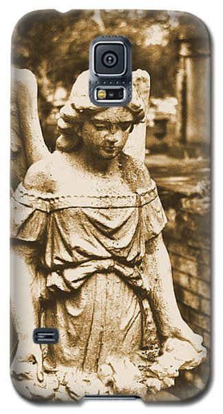 Galaxy S5 Case featuring the photograph Blessed Angel   by Nadalyn Larsen
