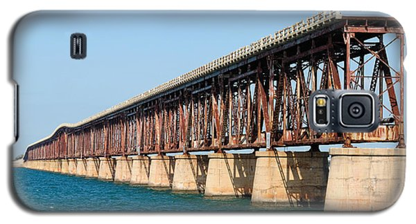 Old Bahia Honda Bridge 2 Galaxy S5 Case