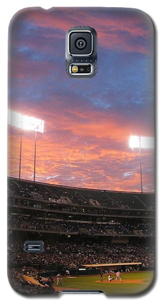 Galaxy S5 Case featuring the photograph Old Ball Game by Photographic Arts And Design Studio