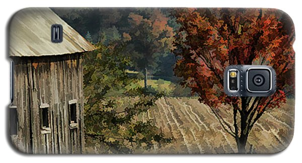 Old Barn And Field Galaxy S5 Case