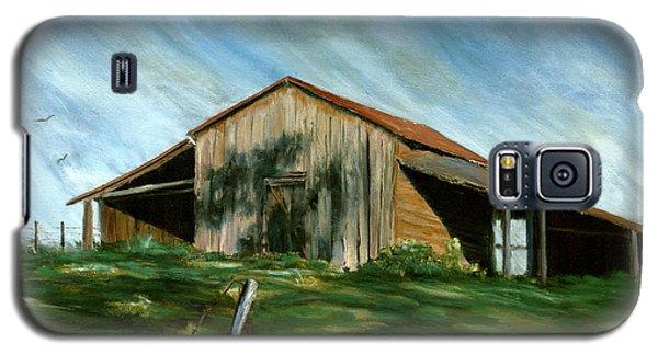 Old Barn Landscape Art Pleasant Hill Louisiana  Galaxy S5 Case