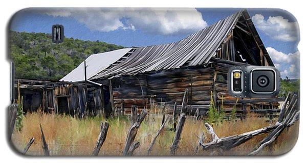 Old Barn Las Trampas New Mexico Galaxy S5 Case