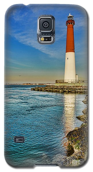 Old Barney At Sunrise - Barnegat Lighthouse Galaxy S5 Case by Lee Dos Santos