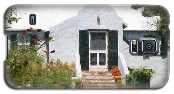 Galaxy S5 Case featuring the photograph Old Bermuda Home by Verena Matthew