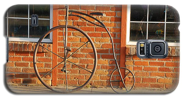 Galaxy S5 Case featuring the photograph Old Bike by Mary Carol Story