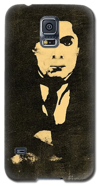 Galaxy S5 Case featuring the photograph Old Black Man by Yury Bashkin