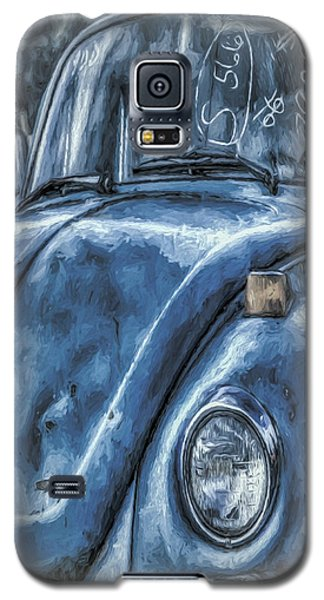 Old Blue Bug Galaxy S5 Case by Jean OKeeffe Macro Abundance Art